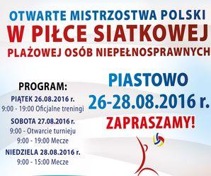 Turniej siatkówki w Piastowie