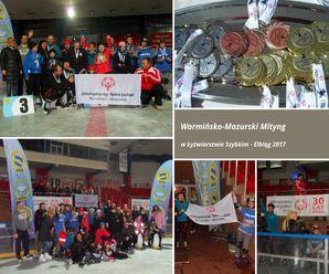 I Warmińsko – Mazurski Mityng w Łyżwiarstwie Szybkim Olimpiad Specjalnych