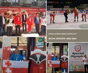 Brąz dla niepełnosprawnego elblążanina na Olimpiadzie Specjalnej!