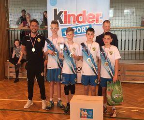 Finał Wojewódzki Kinder + Sport z udziałem IKS Atak