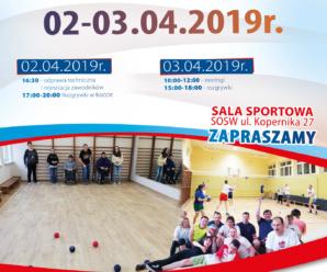 ZAWODY Rekreacyjno – Sportowe w Siatkówkę i Boccię