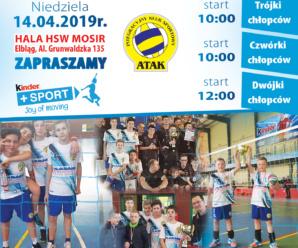 Turniej Eliminacyjny Kinder+Sport w mini siatkówce Dziewczynek i Chłopców