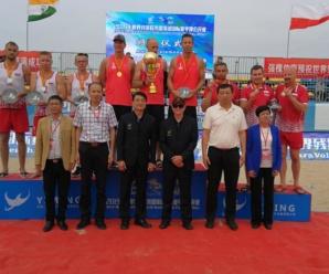 Srebrny medal siatkówki plażowej w Chinach