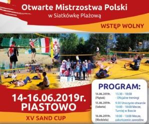 """Otwarte Mistrzostwa Polski w Siatkówkę Plażową – XV """"SAND CUP"""""""