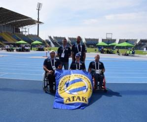 IKS Atak z 5 medalami Mistrzostw Polski Osób Niepełnosprawnych w Lekkiej Atletyce