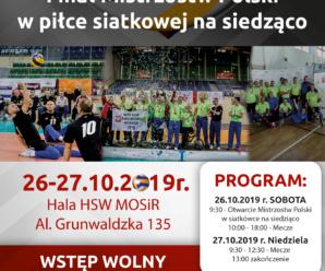 Finał Mistrzostw Polski w piłce siatkowej na siedząco