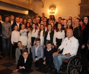 """Spotkanie zawodników IKS """"ATAK"""" z Prezydentem Miasta Elbląga"""