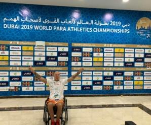 Rafał Rocki na Paralekkoatletycznych Mistrzostwach Świata w Dubaju