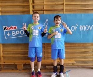 Turniej dwójek Kinder+Sport w Olsztynku