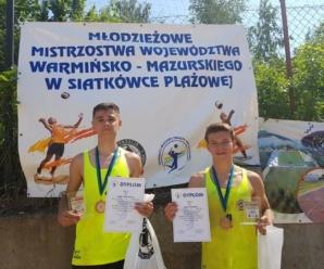 Kadeci IKS Atak z brązowymi medalami Mistrzostw Województwa Kadetów w Siatkówce Plażowej!