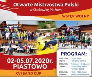 OTWARTE MISTRZOSTWA POLSKI XVI SAND CUP