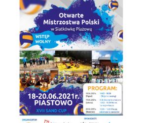 XVII SAND CUP 2021                               Otwarte Mistrzostwa Polski