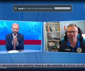Trener LA Krzysztof Wojtaszek gościem TVP3 OLSZTYN w Programie OPINIE